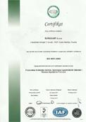 Certifikat ISO 9001:2008
